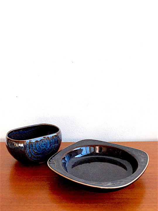 CARL-HARRY STÅLHANE Bowl and dish bowl, Rörstrands